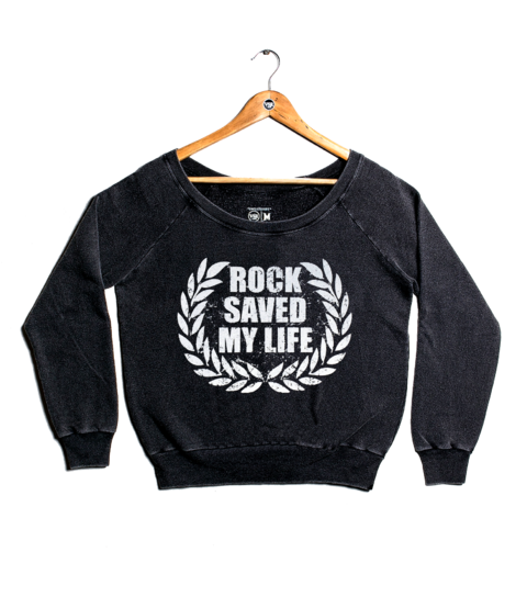 Moletom VSR Rock Saved My Life - Feminino