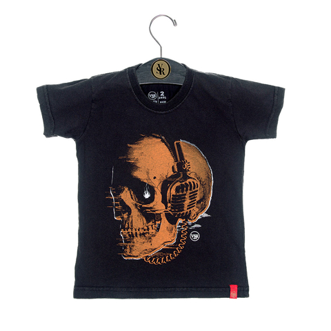 Camiseta VSR Skull Headphone - Infantil