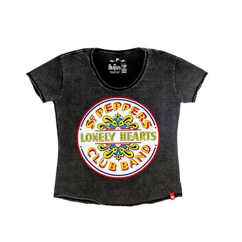 Camiseta VSR The Beatles Sgt. Peppers - Feminino Comfort Preto