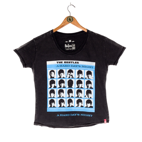 Camiseta VSR The Beatles A Hard Day's Night - Feminino Comfort