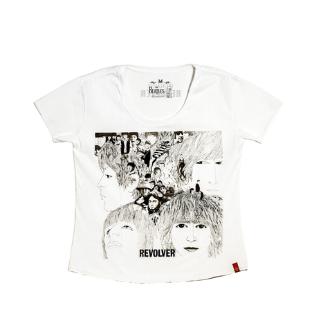 Camiseta VSR The Beatles Revolver - Feminino Comfort