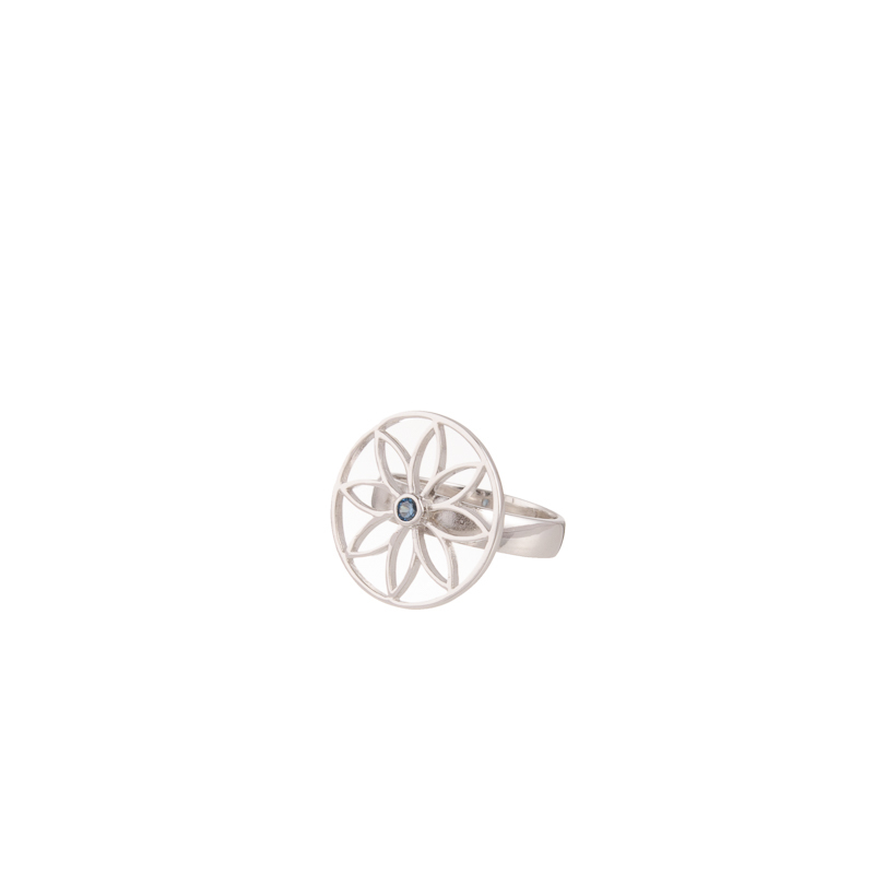 Rose Red Indie Petit Ring