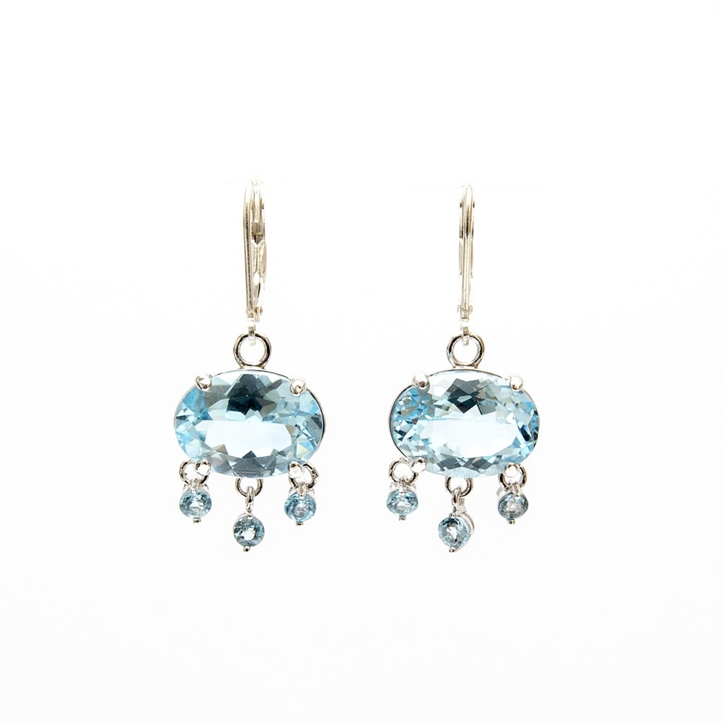 Alba Topaz Earrings