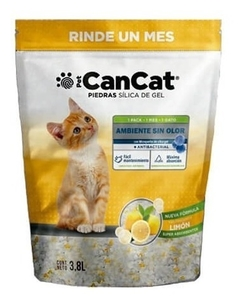 Silica Can Cat Limon 3.8 Lts