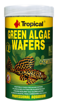 Alimento de fondo Green Algae wafers x 45 grs