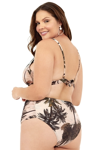 biquini plus size cortinão estampado 2038108 new beach