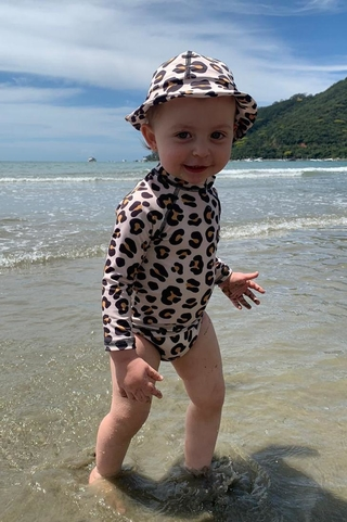 calcinha sunga infantil animal print MAH04 mah sun kids
