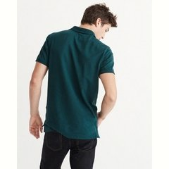 Abercrombie Camiseta Polo Masculina - comprar online