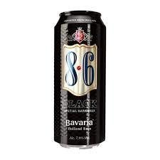 Bavaria® cerveza 8.6 black lata 500ml