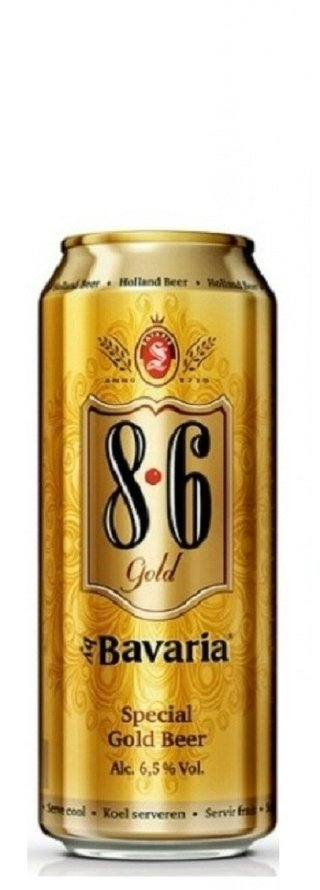 Bavaria® Cerveza 8.6 Gold lata 500 ml