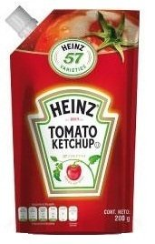 Heinz® Ketchup doy pack 200g