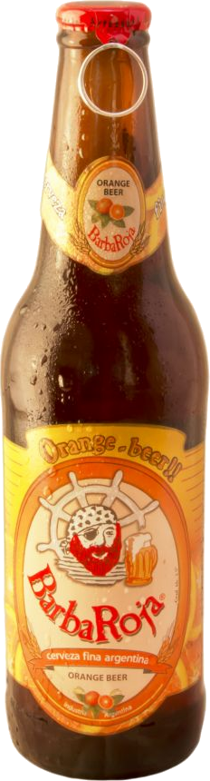 BarbaRoja® Cerveza Orange x 330 ml.