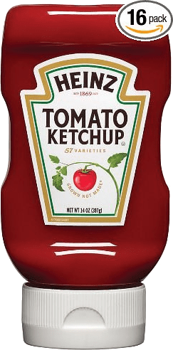 Heinz® Ketchup squeeze (pet) x 397ml