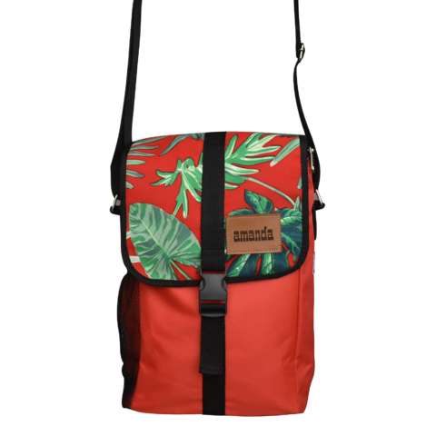 Morral matero con bolsillo para notebook 14""