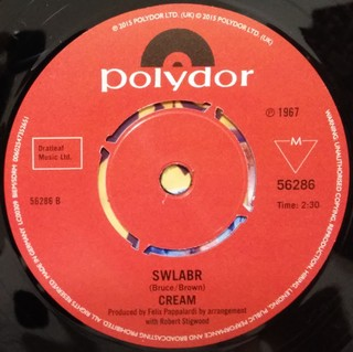 Cream - Sunshine of Your Love / SWLABR [Compacto] - loja online