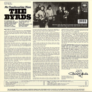 Byrds - Mr. Tambourine Man [LP] na internet
