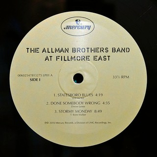 Imagem do Allman Brothers Band - The Allman Brothers Band At Fillmore East [LP Duplo]