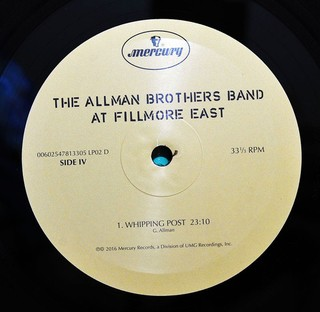 Allman Brothers Band - The Allman Brothers Band At Fillmore East [LP Duplo] na internet