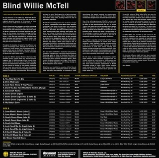 Blind Willie McTell - Complete Recorded Works In Chronological Order Vol. 3 [LP] - comprar online