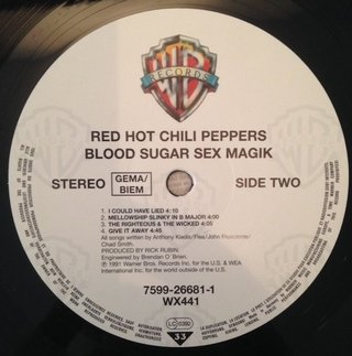 Red Hot Chili Peppers - Blood Sugar Sex Magik [LP Duplo] - comprar online