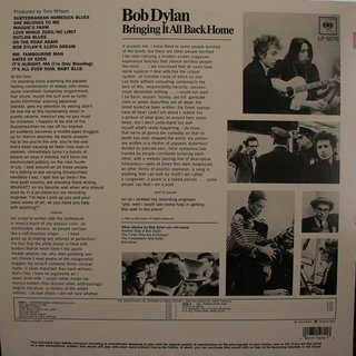 Bob Dylan - Bringing It All Back Home [LP] - comprar online