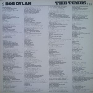 Bob Dylan - The Times They Are A-Changin' [LP] - 180 Selo Fonográfico