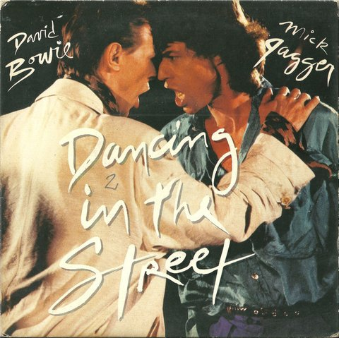 David Bowie / Mick Jagger- Dancing In The Street [Single]