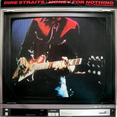 Dire Straits - Money For Nothing (full length version) [Maxi Single]