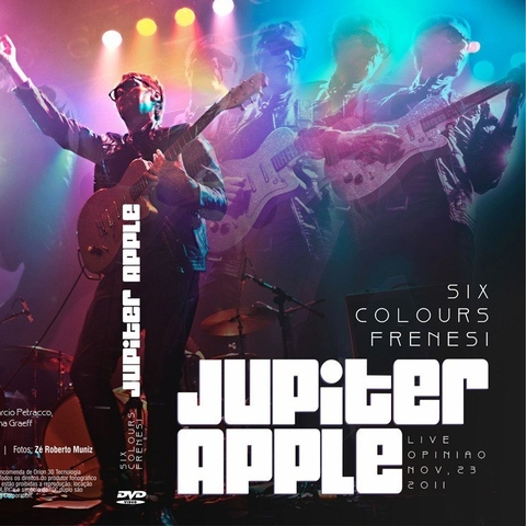 Jupiter Apple - Six Colours Frenesi: Live Opinião 2011 [DVD]