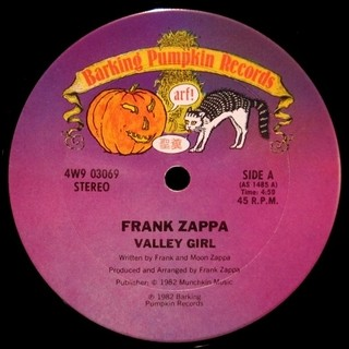 Frank & Moon Zappa - Valley Girl [Maxi Single] - 180 Selo Fonográfico