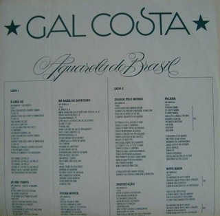 Gal Costa - Aquarela do Brasil [LP] - comprar online