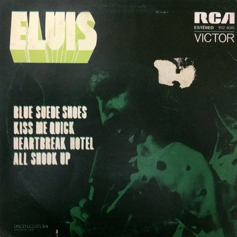 Elvis Presley - Blue Suede Shoes/Heartbreak Hotel [Compacto]