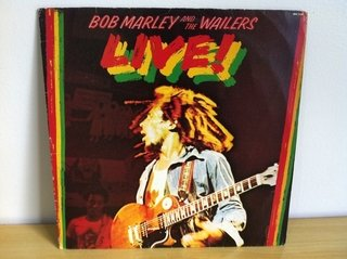 Bob Marley and The Wailers - Live [LP] - comprar online