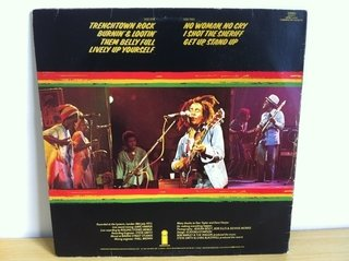 Bob Marley and The Wailers - Live [LP] na internet