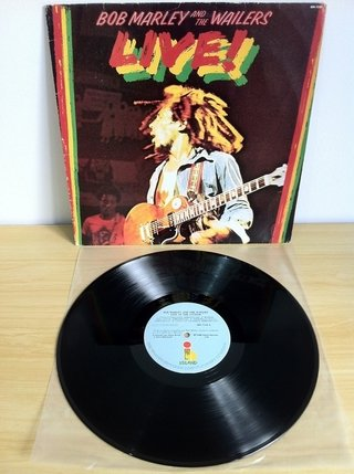 Bob Marley and The Wailers - Live [LP] - 180 Selo Fonográfico