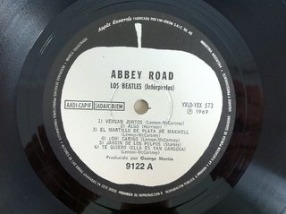 Beatles - Abbey Road [LP] - 180 Selo Fonográfico