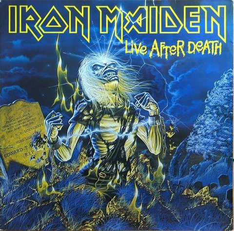 Iron Maiden - Live After Death [LP Duplo]