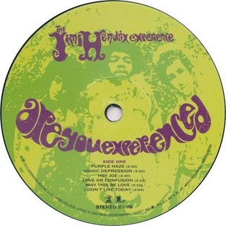 Jimi Hendrix Experience - Are You Experienced [LP] na internet