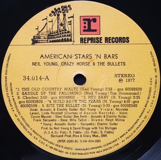 Neil Young - American Stars 'N Bars [LP] na internet