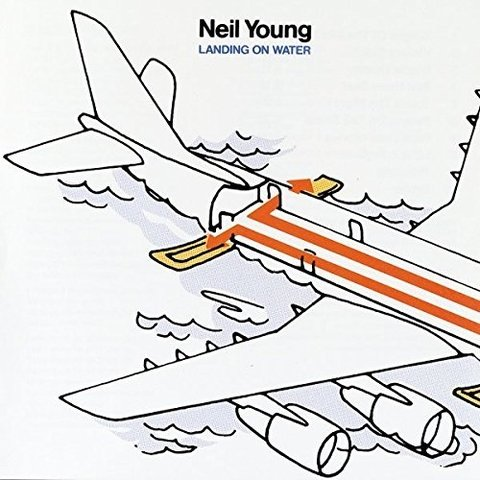 Neil Young - Landing On Water [LP]