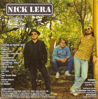 Nick Lera - Nick Lera [CD] na internet