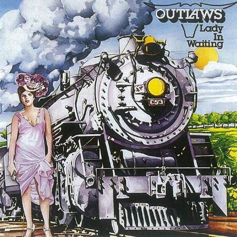 Outlaws ‎– Lady In Waiting [LP]
