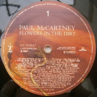 Paul McCartney - Flowers In The Dirt [LP] na internet