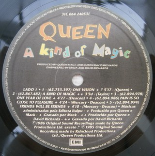 Queen - A Kind Of Magic [LP]