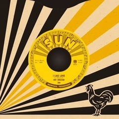 Roy Orbison and Teen Kings - Chicken-Hearted / I Like Love [Compacto]