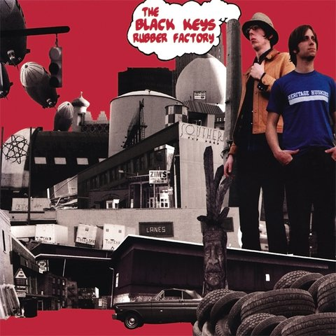 Black Keys - Rubber Factory [LP + MP3]