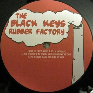 Black Keys - Rubber Factory [LP + MP3] na internet