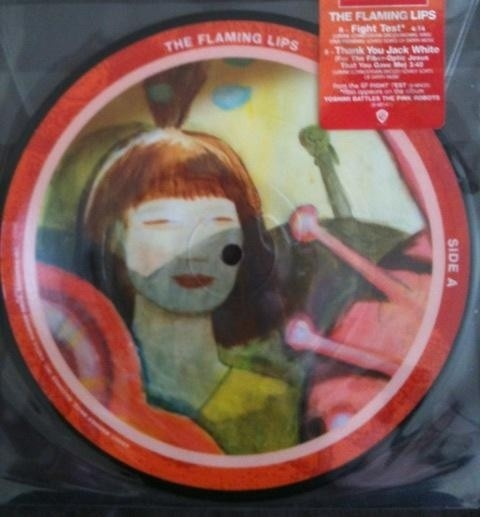 Flaming Lips - Fight Test / Thank You Jack White [Compacto]