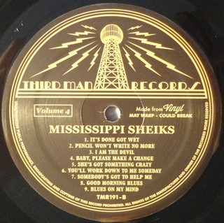 The Mississippi Sheiks - Complete Recorded Works In Chronological Order Vol. 4 [LP] - 180 Selo Fonográfico