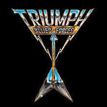 Triumph ‎– Allied Forces [LP]